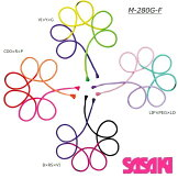 [2020NewColor]3色ロープ[10%OFF]M-280G-FSASAKI