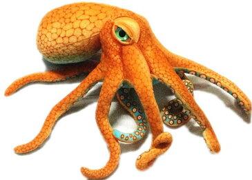 章魚タコのぬいぐるみ リアルタコ 海洋生物 蛸 ぬいぐるみ 手触りふわふわ 動物ぬいぐるみ 抱き枕 プレゼント サプライズ 飲食店 贈り物 女の子 店飾り おもちゃ 70cm