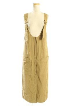 【新入荷!!】スピック&スパン 18SSサロペットスカート[LOPP74643]【PP】【中古】【5400円以上のご購入で送料無料】