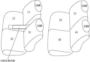 clazzio シートカバー クラッツィオツィールタイプ スバル ステラ 型式 LA150F/LA160F 年式 H29/8- グレード Gスマートアシスト ≪ 運転席リフター有/リア背面裏側シートスライドレバー有用 ≫※コンビニフック使用不可
