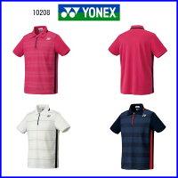 ヨネックスポロシャツ10208(フイットスタイル)テニスバドミントンスポーツウエア
