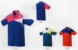 ヨネックスゲームシャツ10307ミッドナイトネイビーダークマリンサンセットレッドSSSMLOXO