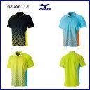 ミズノ ゲームシャツ 62JA6112 テニス ウェア ソフトテニス ウェア バドミントン ウェア