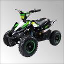 最新大口径6インチ仕様!前後ディスクブレーキ50ccMINI ポケバイ四輪バギー最高速度 45km/h緑色トリプルサス仕様ミニバギー