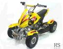 最新50ccMINI 四輪バギー最高速度 45km/h黄色、ポケバイ【NEWSHOP特集070402】ラジコンも大人気