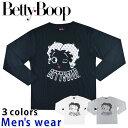 ★メール便送料無料★ ベティー ブープ 長袖 Tシャツ メンズ SPBT-93245B ベティ ちゃん グッズ Betty