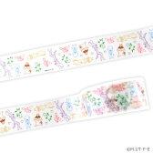 【フジテレビ限定】ぼのぼの マスキングテープ(描きおこし おひるね柄)
