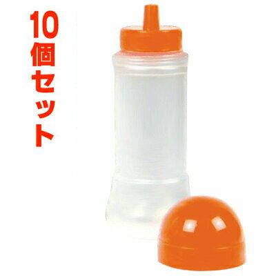 空ボトル 業務用容器 200ml 10個セット 空容器 オレンジキャップ はちみつ容器 容器 詰め替え ボトル