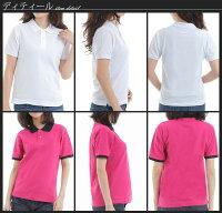 ポロシャツレディース半袖無地半そでビズポロクールビズファッション紫外線カットUVカット06