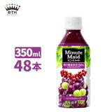 ミニッツメイドカシス&グレープ 350ml ペットボトル 2ケース×24本入 送料無料