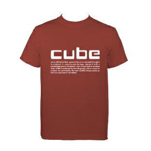 【楽天独占販売!】日産コラボ特別企画『CUBE』×デザインTシャツ【Nissanキューブマイルーム/cube Myroom.】Perfume(パフューム)カンガルーのCMで有名なcube