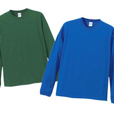 ★★★ Tシャツ 長袖 無地 白 ★★★  1.6インチリブ 長袖Tシャツ / カジュアルにスポーツに、インナーに重ね着に着こなしの幅がひろがる綿100% ロングTシャツ/◎ロンT『RTM-slect/c_5011_01』XS/S/M/L/XL