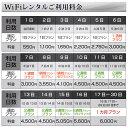 WiFi レンタル 無制限 30日 プラン「 WiMAX 2+ WiFi レンタル 無制限 」1日レンタル料 200円 最大速度 下り 440M [サイズ:約99(W)×62(H)×13.2(D)mm WiFi端末:NEC Speed Wi-Fi NEXT WX03] ポケットwifi 国内 専用