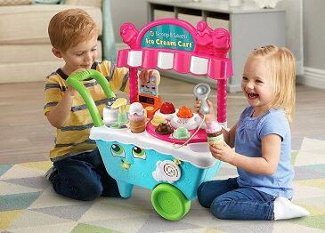 【送料無料】LeapFrog Scoop&Learn アイスクリームカート アイス屋さんごっこ♪/リープフロッグ キッズトイ/おもちゃ