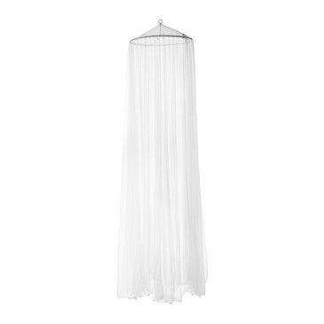 【同梱不可商品】IKEA 【BRYNE】 フレーム付 ネット ホワイト 蚊帳/蚊屋 天蓋 イケア