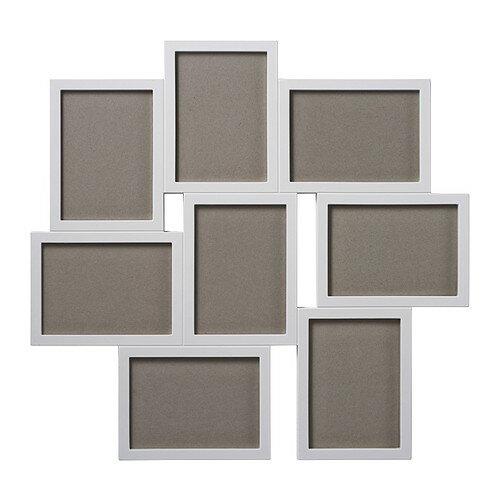 IKEA 壁掛けフォトフレーム/コラージュフレーム 8ピースセット イケア
