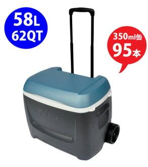 IGLOO 62qt MAX COLD 58L (62 QT) trundle cooler box / wheels / igloo