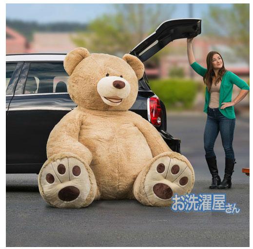 【楽天市場】93インチ 2m36cm★超大きな大きなくまのぬいぐるみビッグサイズベア クマ 熊 コストコ※代引き利用