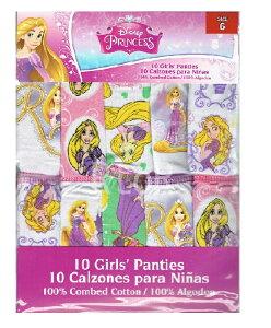 NEW♪10枚組 Disney【塔の上のラプンツェル/Rapunzel】ガールズショーツ10枚セット パンツ/下着/Tangled/メール便可