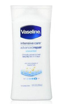 Vaseline【repairing moisuture】モイスチャーローション295ml(無香料スキンローション)ホワイト/ヴァセリン/携帯にも便利