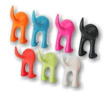 IKEA ドッグテールフック犬のしっぽ型フック リード・キャリーバック掛けに♪取り付けかんたん!イケア
