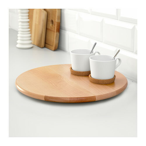 À�楽天市場】ikea【snudda】 Â�ーンテーブル ś�転台 Ǜ�径39cm Ɯ�製 Â�ケア:お洗濯屋さん