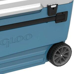 【送料無料♪】IGLOO110qt車輪付き大型クーラーボックス「ProGlide110qt/104L」ホイール、トレイ付きイグルー(イグロー)