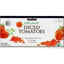 【訳あり/賞味期限2020年3月まで】KS ORGANIC DICED TOMATOES オーガニック【ダイストマト】 8缶セット 有機トマト・ジュースづけ トマト缶 ※賞味期限2020年3月まで。返品・交換不可