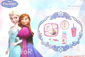 【Zak!DesignsMealtimeSet】FROZENアナと雪の女王キッズ用食器セット+ドリンクボトル6ピースセットベビー/キッズ用食器セット/ランチ/ディナー/水筒
