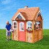 CedarSummit木製プレイハウスキッチン用品付属組立式高さ185cm幅142cm奥行139cm※代引き不可
