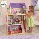 KIDKRAFT 木製ドールハウスセット 3階立て「Kayla DOLLHOUSE」家具10点付き♪キッドクラフト/ケイラ ※同梱・沖縄・離島発送不可