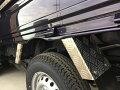 S500P/S510P用ハイゼットジャンボ/標準車リアフェンダーカバーアルミ縞板