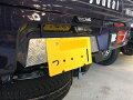 S500P/S510P用ハイゼットジャンボ/標準車荷台リアパネルアルミ縞板