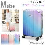 スーツケースMサイズ5035(グラデ)