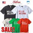 Tシャツ/HELLO BILLVAN/へヴィーウェイトTシャツ/COTTON USA/0414