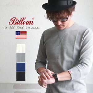 アメカジ Tシャツ BILLVAN ワッフル フィットスタイル 7分袖Tシャツ アメカジ パックシリーズ メンズ アメカジ