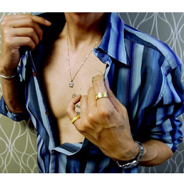 ハワイアンジュエリー ネックレス レディース メンズ ピンクゴールド イエローゴールド シルバー 石 キュービックジルコニア 誕生日 記念