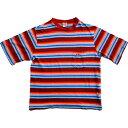 【SALE】【大幅値下げ】【HANG TEN】ハンテン ボーダーTシャツ(S)【中古】