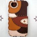【OJAGA DESIGN】 オジャガ デザインiPhone SE / 5 5s ケース Bamako アイフォンケース パッチワーク