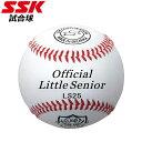 エスエスケイ 野球 試合球 リトル・シニアリ-グ試合球 SS