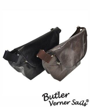 レザーショルダーバッグ 日本製 本革鞄 馬革 軽い 柔らかい 革 バッグ メッセンジャー レザーバッグ / バトラーバーナーセイルズ ButlerVernerSails / メンズ レディース 軽量 小さめ ショルダーバッグ 斜めがけ おしゃれ 30代 40代 50代 ファッション ブランド