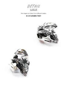 sv925リング指輪/クレイジーピッグCRAZYPIG/ラージドラゴンボディリング指輪リングメンズリングレディースおしゃれ正規品プレゼントシルバー925