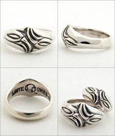 sv925リング指輪/LONEONESロンワンズ/スモールカーブドシルクリング【エルワンカムホートベル鈴指輪メンズリングレディースリングプレゼントおしゃれ】