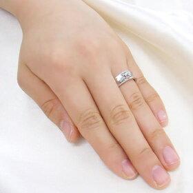ロジウムcoatリング指輪/ウィズミーボニー&クライド/クラウンペアリング(燻し加工・ロジウムコーティング)【指輪ペアリングペアメンズレディースおしゃれプレゼントシルバー925】