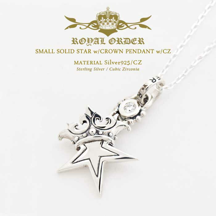 メンズジュエリー・アクセサリー, ネックレス・ペンダント  Royal Order 925 w wCZ