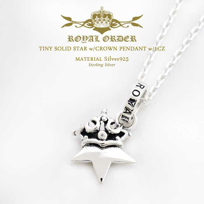メンズジュエリー・アクセサリー, ネックレス・ペンダント  Royal Order 925 w w1CZ