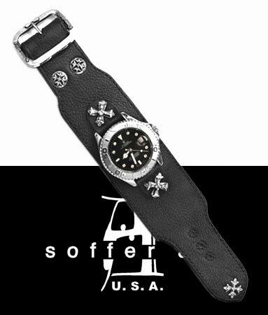 レザーウォッチバンドロレックスROLEX腕時計ベルト牛革本革製 メンズレディース30代40代50代60代ファッションUSA製アメ
