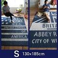 【500円OFFクーポン】ラグ洗えるラグマット【130×185cm】西海岸日本製カーペットウォッシャブルRM140×200