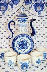 青く美しい陶器グジェリゴージャス☆ティーパーティー
