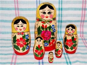 ルイノク2の看板商品!ロシア伝統柄のマトリョーシカロシヤーノチカ【マトリョーシカ】